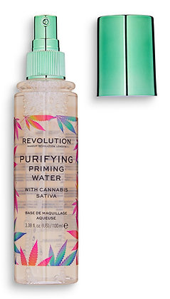Makeup Revolution Purifying Priming Water With Cannabis Sativa