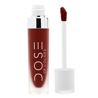 Dose of Colors Liquid Matte Lipstick Tono Charm