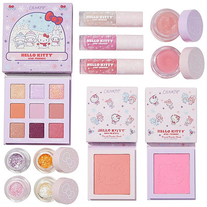 Colour Pop Hello Kitty Snow Much Fun Full Collection Set