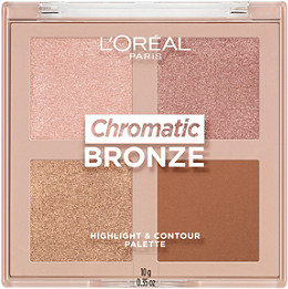 Loreal Chromatic Bronze Highlight and Contour Palette
