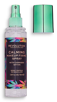 Makeup Revolution Calming Fixing Spray With Cannabis Sativa
