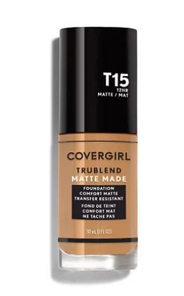 Covergirl TruBlend Matte Made Liquid Foundation-Tonos Tan