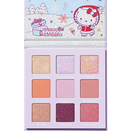 Colour Pop Hello Kitty Snow Much Fun Eyeshadow Palette