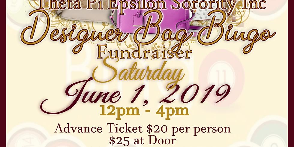 2nd annual designer bag bingo fundraiser