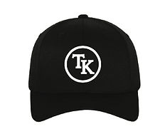 Troy Kemp Merch | Black Trucker Cap with White Logo
