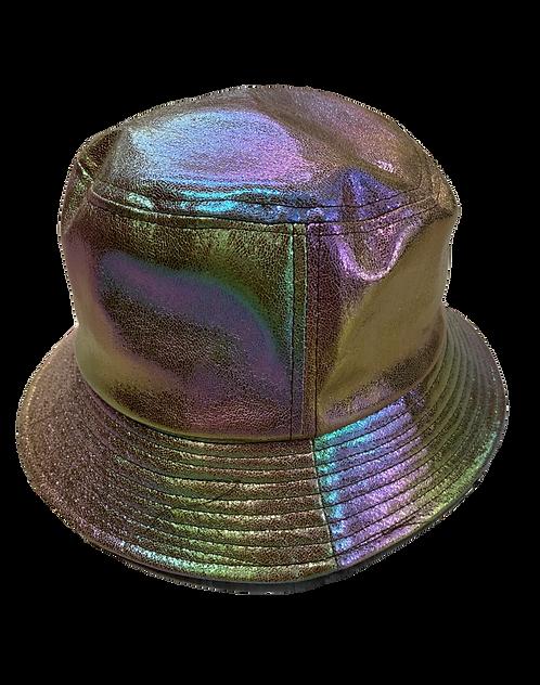 Holographic bucket hat