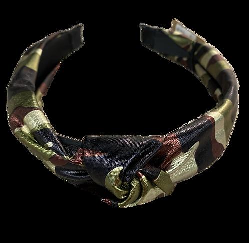 Camo twist headband