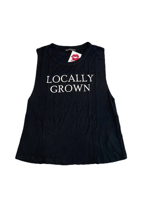 Locally Grown graphic tank