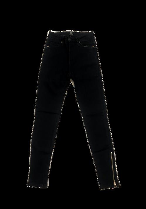 JBD BP1105 Highrise Zipper Cropped