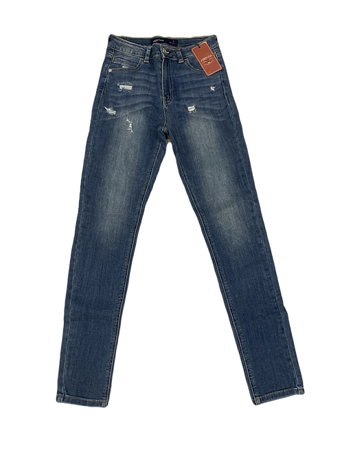 Just USA JP620 high rise washed skinny