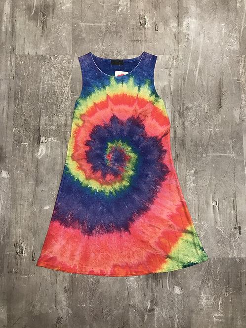 Tie Dye dress by Xync