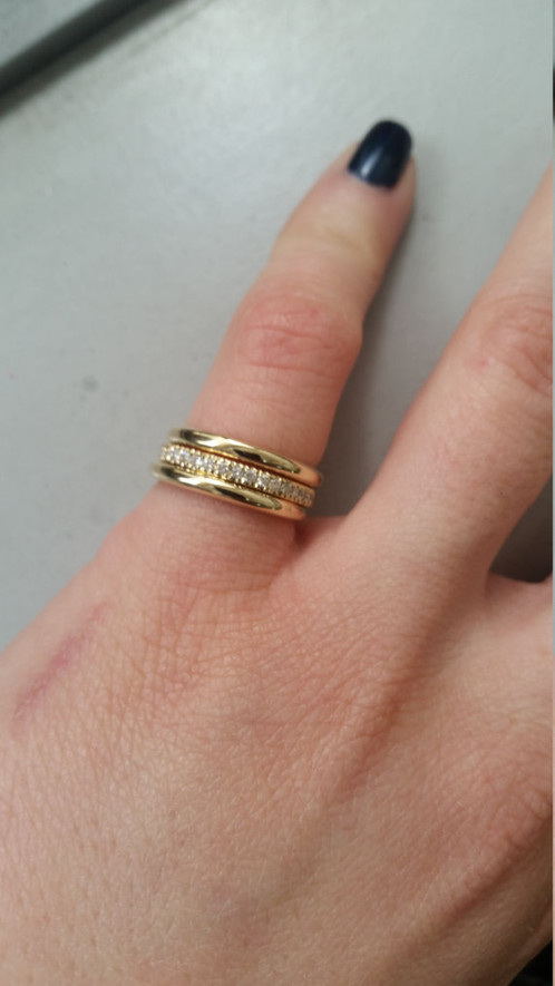 Diamond Wedding Band 3 Bands Jewelry 134 Jewelsroad