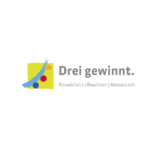 Drei gewinnt Logo