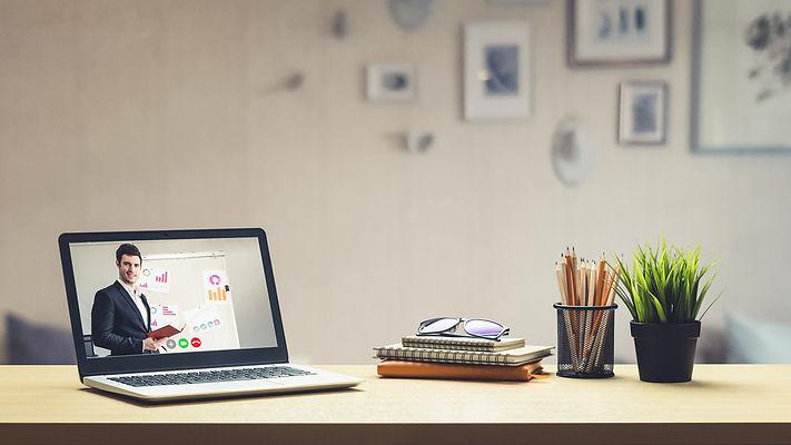 elearning online business presentation