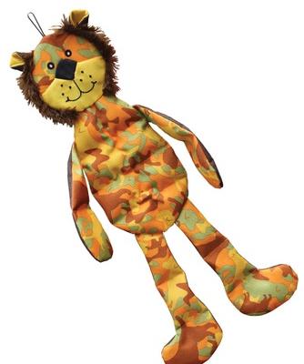 VET DOG Camo Tons-O-Squeakers Lion