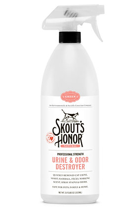 Skout's Honor Pro Strength Cat Urine & Odor Destroyer