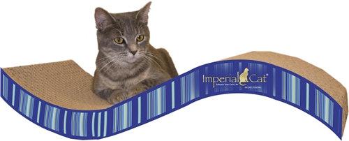 Scratch n' Shapes Purrfect Stretch Cat Scratcher