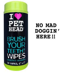 Pet Head Brush Your Teeth Wipes