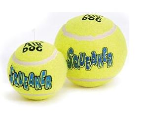 Air Kong Squeaker Tennis Balls