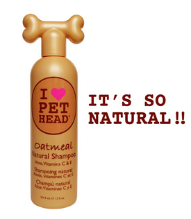 Pet Head Natural Shampoo - Oatmeal