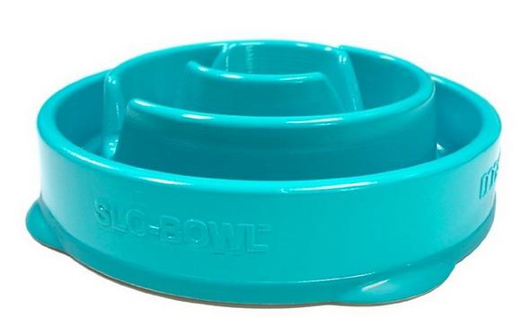 Kyjen Slo-Bowl Slow Feeder - Drop Teal