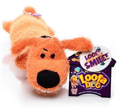 """Loofa Dog - 10"""""""