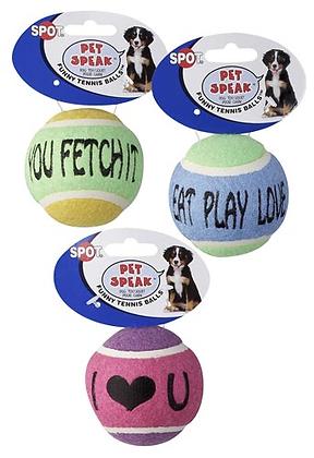 Speak Funny Tennis Balls