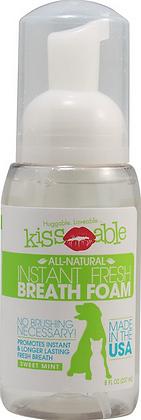 Kissable Dog Instant Fresh Breath Foam
