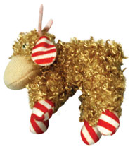 Holiday Cat Reindeer Toys