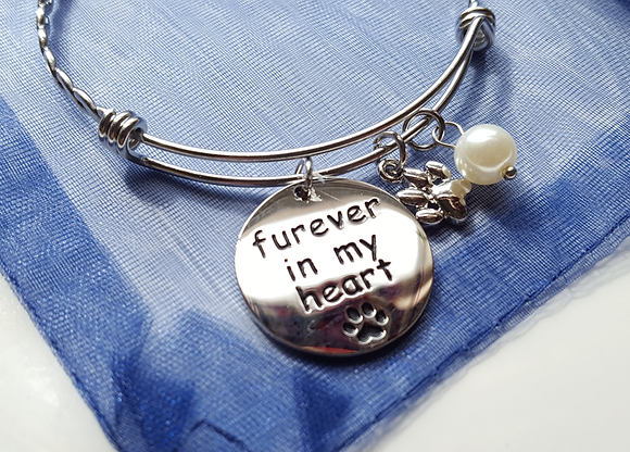 Furever in My Heart Charm Bracelet