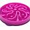Thumbnail: Kyjen Slo-Bowl Slow Feeder - Mulberry Flower