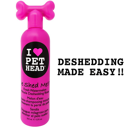Pet Head Miracle Rinse - De Shed Me!