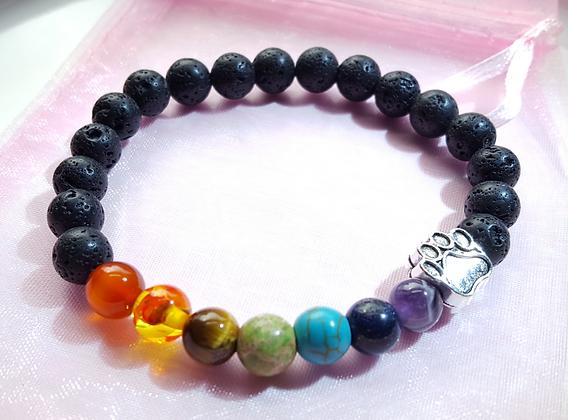 Rainbow Bridge Memorial Bracelet