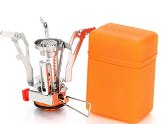 AOTU Portable Camping Stoves Backpacking Stove with Piezo Ignition ,Stable Support Wind-Resistance.