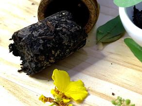 365 Teas Challenge > Day 297 - Bamboo Roasted Pu-erh Tea 2006