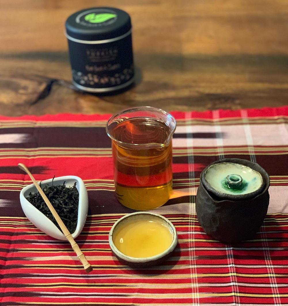 Loose leaf black tea from Turkey