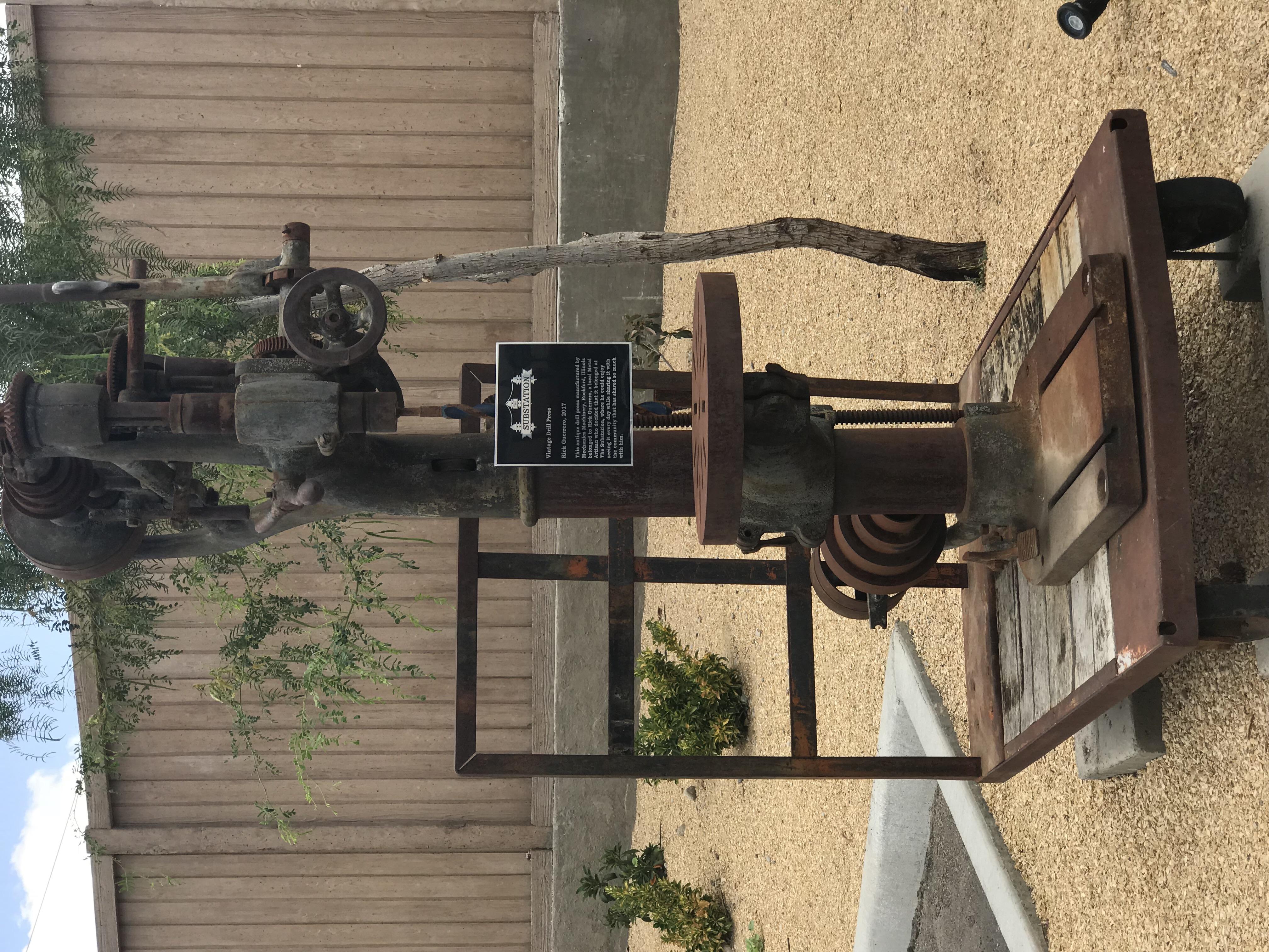 Vintage Drill Press