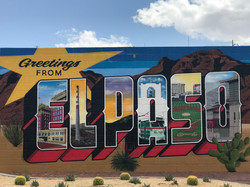 Greetings from El Paso TX