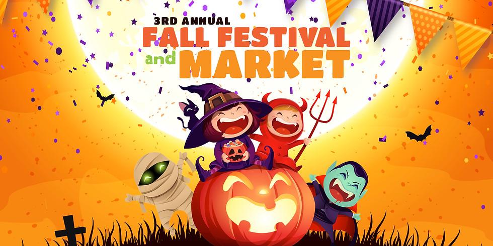 3rd Annual Fall Festival & Market