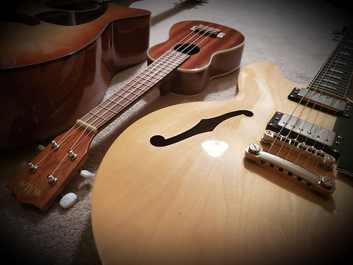guitar and ukulele lessons, acoustic and electric erie pa