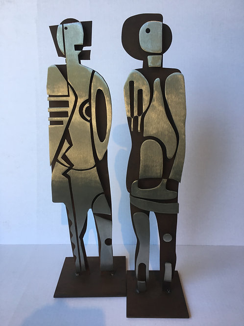 Man and Woman Maquette A & B