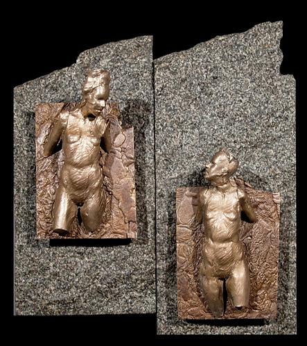 Figure in Relief No. 37 & 38/SOLD