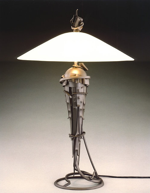 """Large Comet"" Table Lamp"