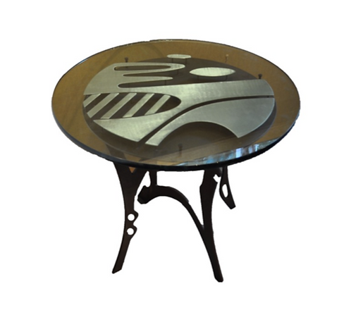 Small, Round Table