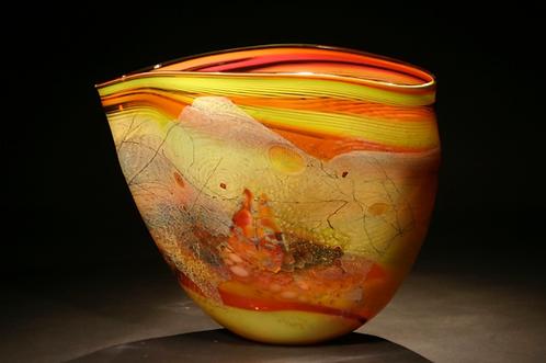Glass Vessel/SOLD