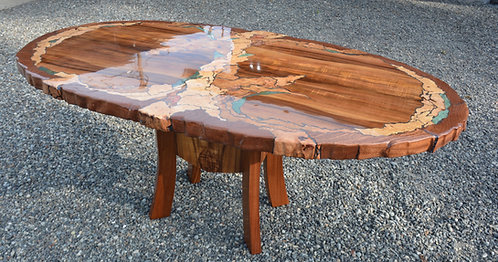 Inlayed Dinning Table