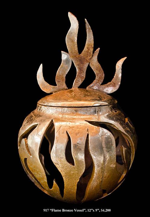 """""""Flame Bronze Vessel"""""""