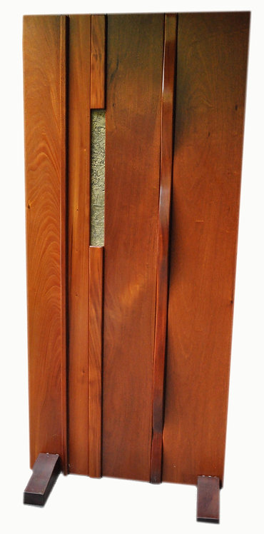 Mahogany Door w Bronze