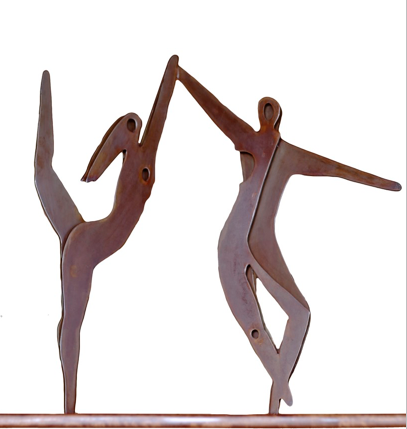 """Dancers Sculpture"""