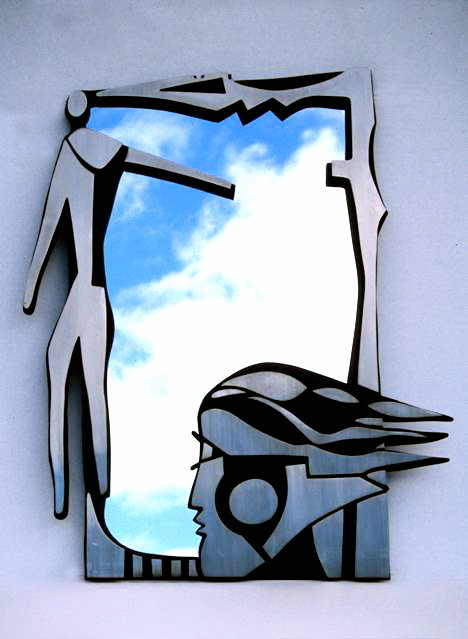 """Man & Woman Mirror"""